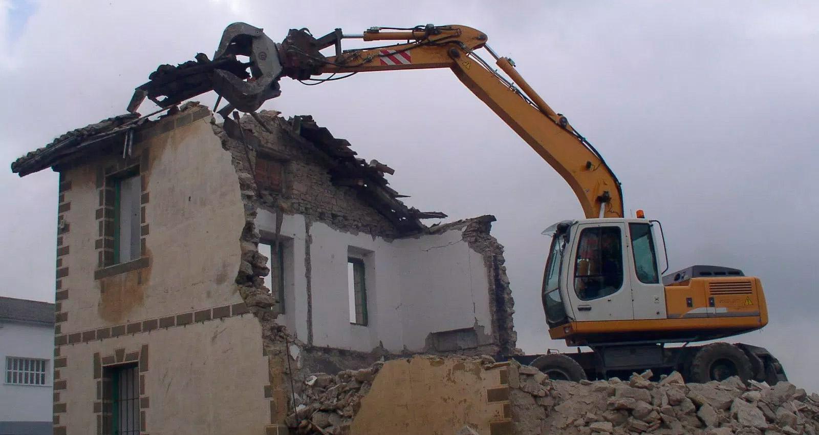 Desratización por demolición