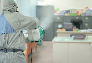 Sanitización COVID-19, con Amonio Cuaternario +Cobre